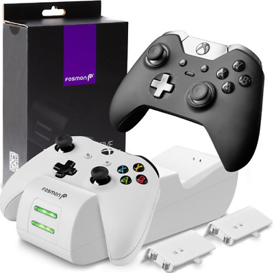 Xbox One Controller Charging Station Rechargeable Battery Stand 1 Charger Dock