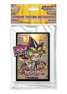 YugiOh Chibi Sleeves (50 sleeves Per Pack) by Yu-Gi-Oh!. Shipping is Free
