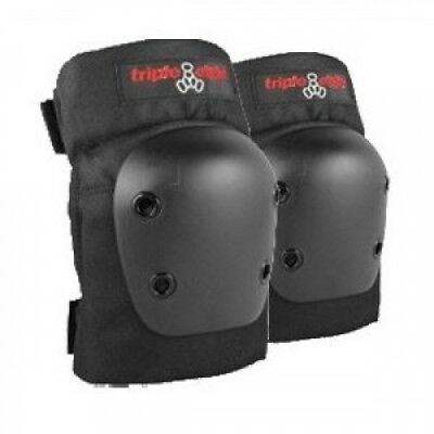 Triple 8 Street Black Junior Elbow Skateboard Pads. Free Shipping
