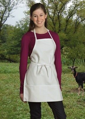 Uncommon Threads 3009-2500 13W x 19L Child Apron 2 Section Pocket - Pack of 4
