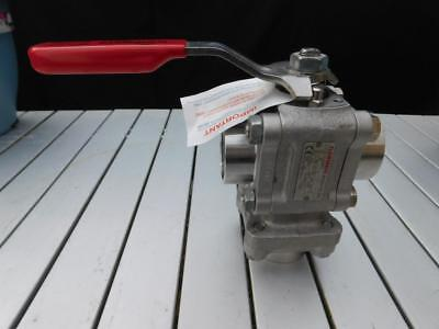 New Worcester Flowserve Diverter Valve 1.75""