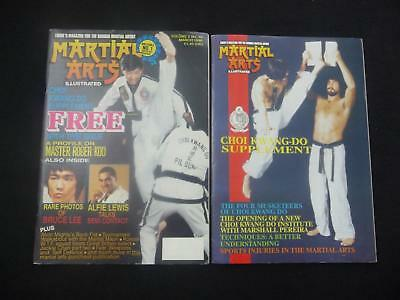 Martial Arts Illustrated magazine volume 2 issue 10 with supplement (LOT#2656)