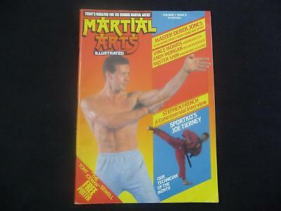 Martial Arts Illustrated magazine volume 1 issue 5 VGC with poster (LOT#2654)