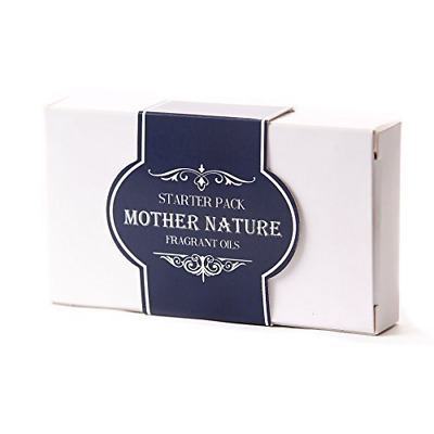 Mystic Moments   Fragrant Oil Starter Pack - Mother Nature - 5 x 10ml - 100% Pur