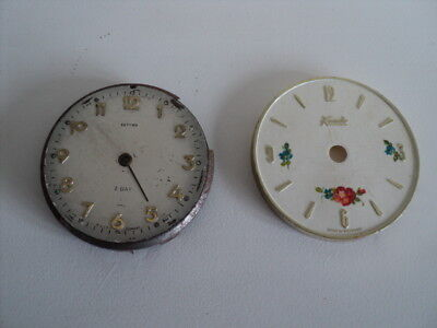 Vintage Kundo & Estyma clock face Made in Germany