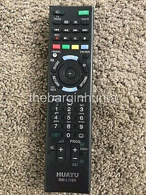 Sony Replacement TV Remote Control RM-GD016, KDL32EX500, KDL40EX500