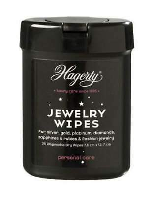 Hagerty Jewlry Wipes for silver, gold, platinum, diamonds
