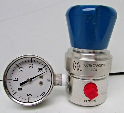 New Go South Carolina Water Pressure Reducing Valve with Gauge (BG)