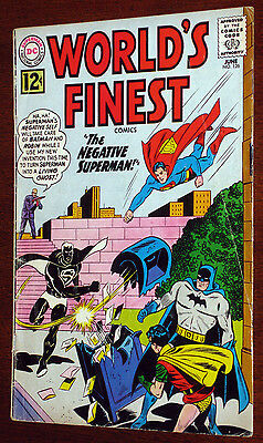 World's Finest #126  Superman Batman VG/F