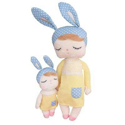 Metoo Plush Doll Toys for Baby Girl Soft Stuffed Animal Doll Bunny for Kids
