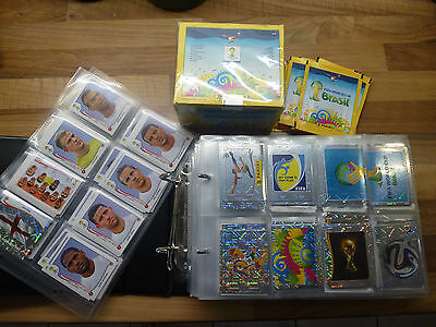 PICK 15 for £2.25 - CHOOSE FROM OVER 560 + PANINI WORLD CUP 2014 BRASIL STICKERS