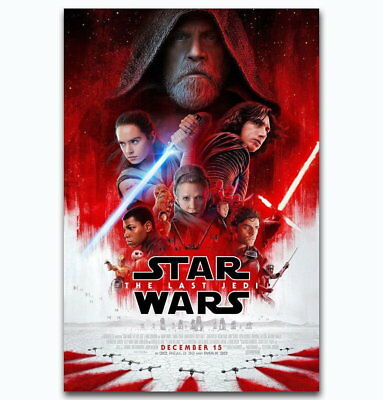58010 Star Wars The Last Jedi Collector's 2017 Wall Print Poster UK