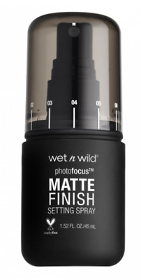 WET N WILD PHOTOFOCUS MATTE FINISH SETTING SPRAY Photo Focus