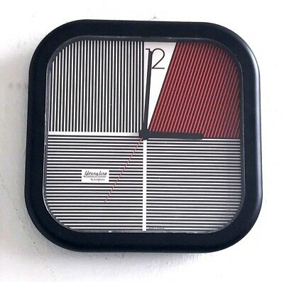 RARE VINTAGE 1980s WALL CLOCK JUNGHANS YOUNGLINE POSTMODERN MEMPHIS MILANO STYLE