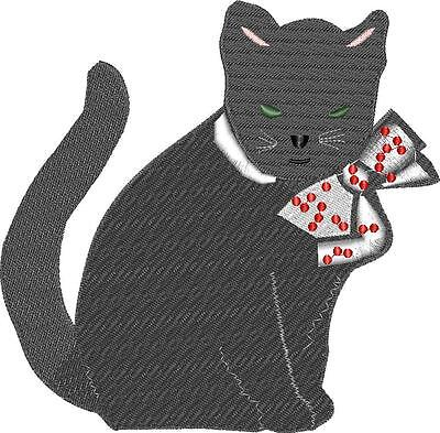 Stickmuster/Datei - Embroidery Katze Nr.02