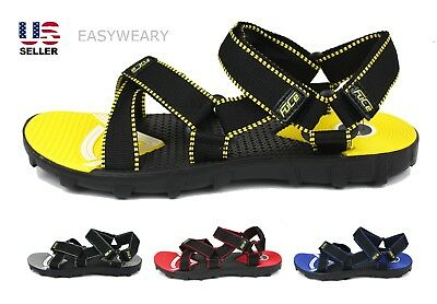 Mens Slip on Sport Athletic Sandals Shoes Beach Fishing Water Universal Summer