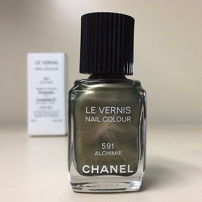 Chanel Le Vernis Nail Polish - 591 Alchimie - Full Size in Tester Box