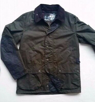 Barbour Digby Men's  Waxed Cotton Insulated Jacket - Fern, Size L, XL