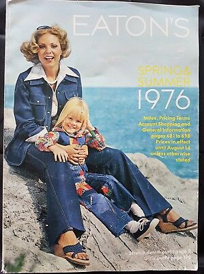 Eatons Spring & Summer Catalog 1976- Last Catalog from Eatons