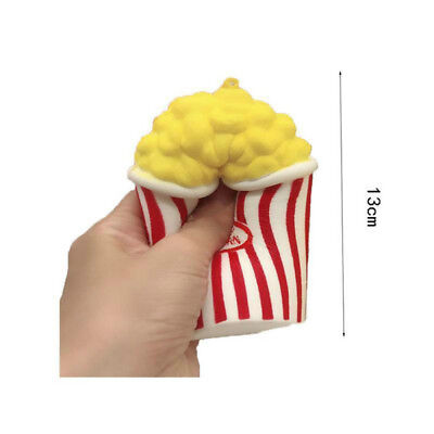 Cute Jumbo Colossal Squishy Popcorn Scented Super Slow Rising Food Toy Gift XJ88