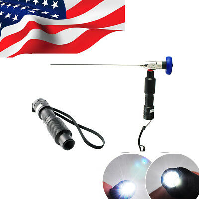 USA Portable Handheld LED Cold Light Source Fit STORZ WOLF ENDOSCOPE CE proved
