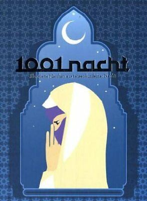 1001 NIGHTS: ILLUSTRATED FAIRY TALES FROM ONE THOUSAND AND ONE - Hardcover *NEW*
