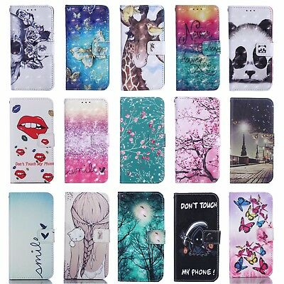 Flip Wallet Pu Leather Case Stand Cover For Samsung S8/S9/S10/S10+/S8+/S9 Plus