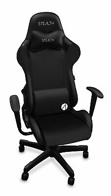 Stealth Challenger Series Gaming Chair - Black - New - Free Uk Post