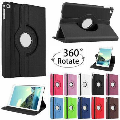360 Rotating Leather Stand Case Cover For Apple iPad 9.7 2018 6th Gen A1893/1954