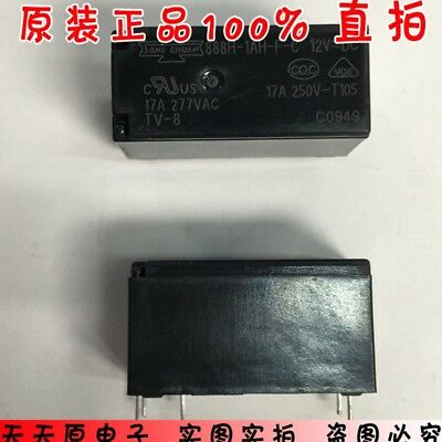 1Pc 888H-1Ah-F-C 888H-1Ah-F-C-12Vdc 6Pin 17A Relay