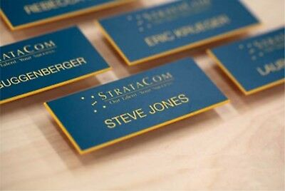 Staff ID Name Badges Personalised Name Badges Business ,engraved Acrylic Badges