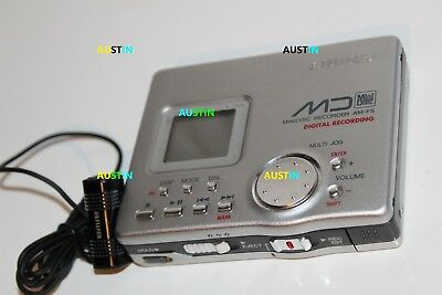 Aiwa Am F5 Minidisc Player Recorder Md With Microphone