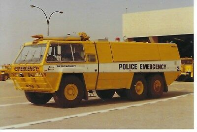 Port Authority Police Of New York/new Jersey Chubb Pathfinder 4X6 Color Photo