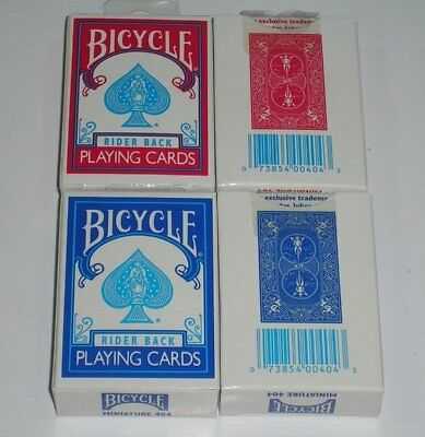 f8f6b5f6d05 1 SET 2 DECKS BICYCLE APOLLO PLAYING CARDS in BLUE AND RED ...