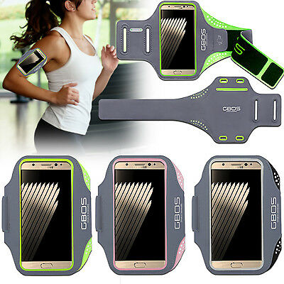 GBOS® Sports Gym Exercise Running Armband Case For Samsung Galaxy Various Models