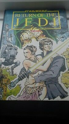 Star Wars Return of the Jedi Annual 1984 Unclipped Marvel £3.99 post free uk