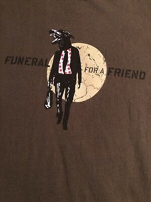 Funeral For A Friend  - PUNK BAND T-Shirt - LARGE