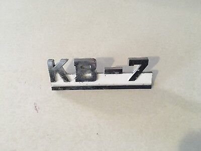 International Kb-7 Badge