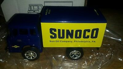 Sunoco 1966 66 Ford Freight Delivery Box Truck Ertl Die Cast