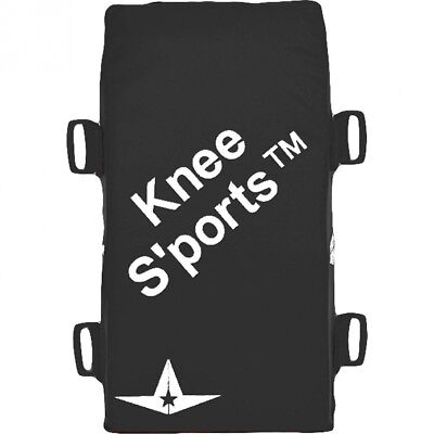 (Black) - All-Star Adult Catcher's Knee Savers. Shipping is Free