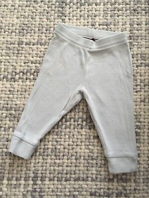 6-9 Mos Two Pair Tea Collection Pants Lot Gray Navy
