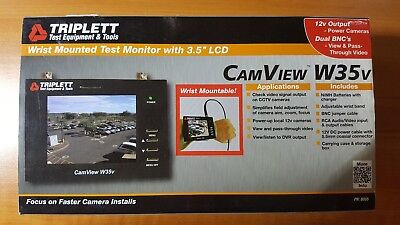 "TripLett Wrist Mounted Test Monitor with 3.5"" Display - CamView W35v"