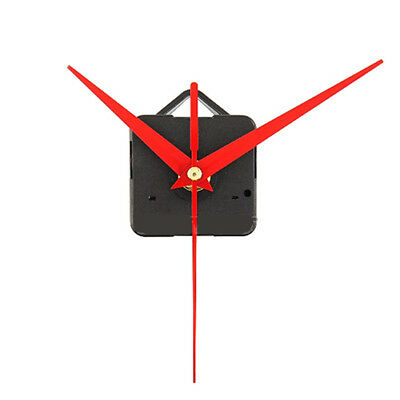 Red Triangle Hands DIY Quartz Wall Clock Movement Mechanism Kit Repair Silent
