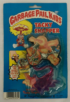 Vintage Rare 1986 Topps Garbage Pail Kids Tacky Snapper Target Toy Up Chuck