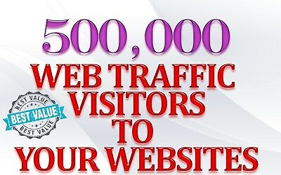 500,000 views real web traffic for your website 500 000 human views + Live Stats