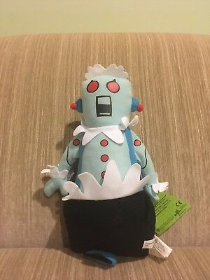 """The Jetsons Plush Stuffed Doll Rosie The Robot 10"""" With Tag"""