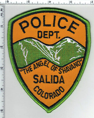 Salida Police (Colorado) Shoulder Patch - new from the 1980's