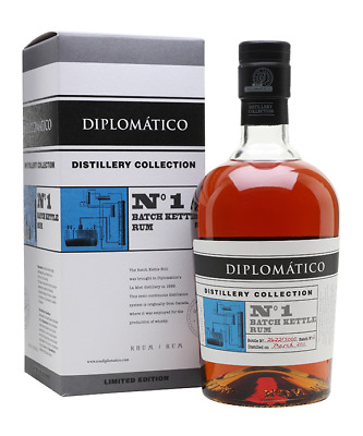 Diplomatico Distillery Collection No.1 Batch Kettle Rum - 700ml