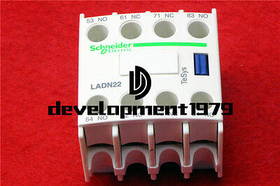 1PCS Schneider Auxiliary Contact Block LADN22C New In Box