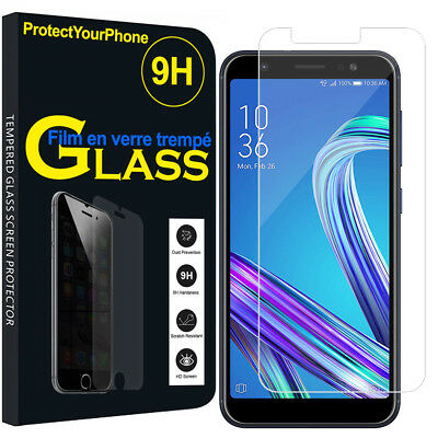 Vitre De Protection Transparent Écran Film Verre Trempe Model Asus Zenfone